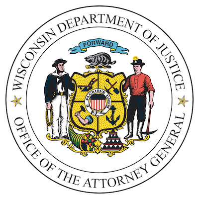 Wisconsin Department of Justice Logo